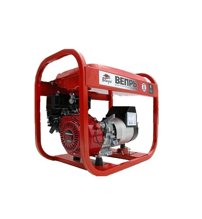 Бензиновый генератор (Бензогенератор) Вепрь АБП 2,2-230 ВХ-Б